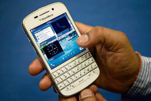 BlackBerry launched two new smartphones this year, the touch screen Z10 device, followed by the Q10, with a mini keyboard favoured by many BlackBerry users