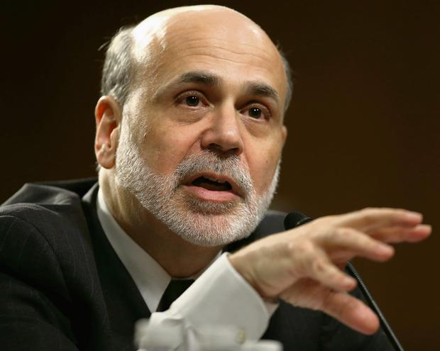 US Federal Reserve chairman Ben Bernanke has signalled an end to easy-money policies