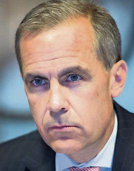 Mark Carney: first non-Briton appointed governor of Bank of England