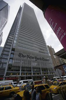 The New York Times Co. offices