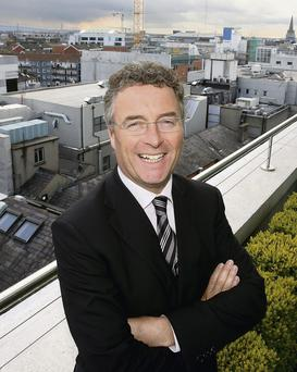 Mark Duffy, the former head of Bank of Scotland's Irish arm