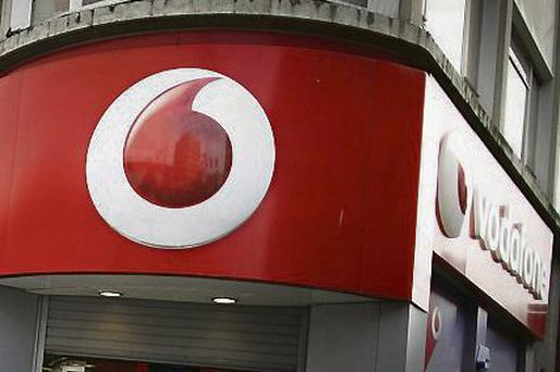 Revenues for Vodafone in Ireland continue to slide
