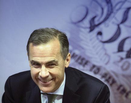 Bank of England Governor Mark Carney delivers this year's half yearly Financial Stability Report.