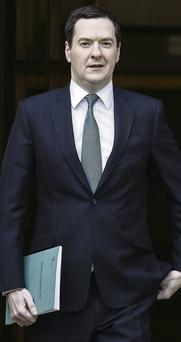 UK Chancellor of the Exchequer George Osborne who presented the Autumn Statement to parliament yesterday.