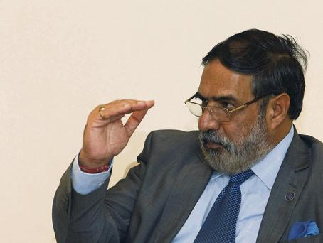 India's Trade Minister Anand Sharma