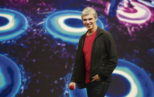 Larry Page, Google chief executive, said: 'It's time for reform and we urge the US government to lead the way.'