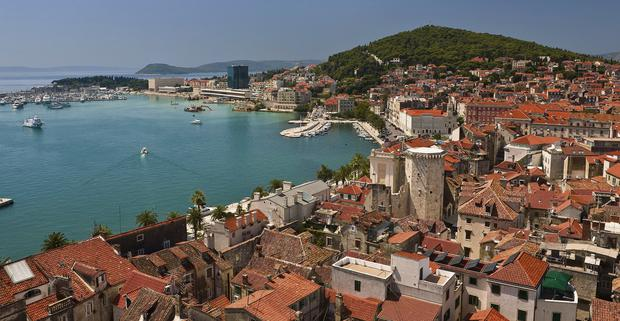 The picturesque town of Split in Croatia where bargain-hunters are eyeing up distressed assets.