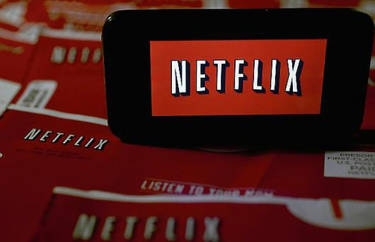 Shares in Netflix increase