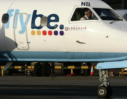 Flybe plane.