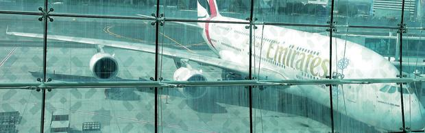 Emirates Airline Airbus A380-800 aircraft