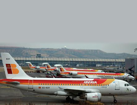 Spanish airports, including Madrid's Barajas-Adolfo Suarez (above), could find themselves under different ownership