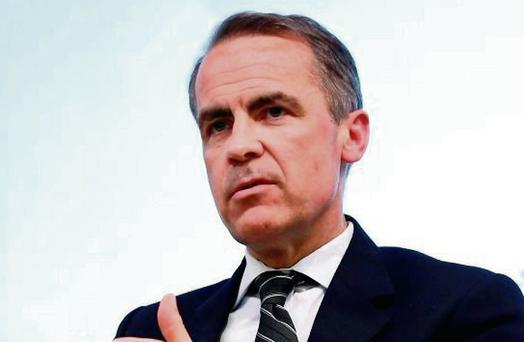 Mark Carney of the Bank of England
