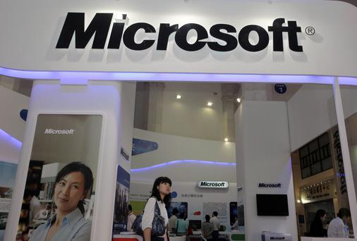 A Chinese regulator said it is conducting an anti-monopoly investigation into Microsoft over its Windows operating system