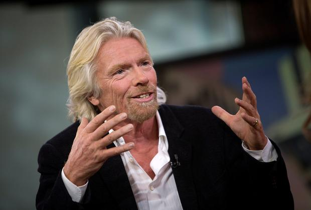 Virgin Atlantic boss Richard Branson