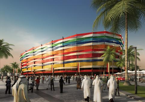 The Qatari vision of one of the World Cup stadia in 2022