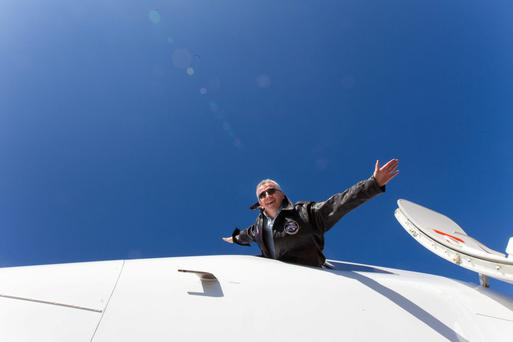 Chilling out: Ryanair CEO Michael O'Leary. Photo: Mark Condren