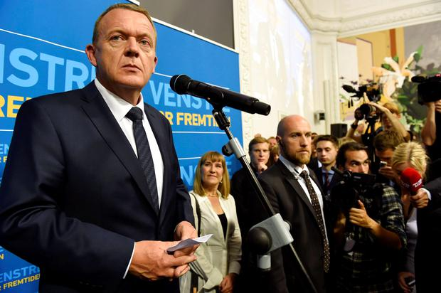 Most analysts expect a shift from a left-wing coalition to a centre-right alliance led by Lars Lokke Rasmussen