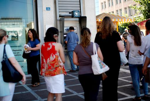 Greek banks remain under capital controls four weeks after the government called a referendum on a bailout plan offered by the European Union.