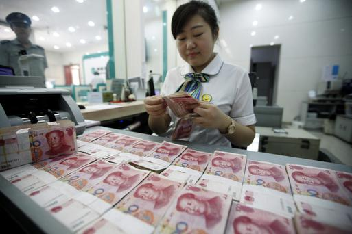 The ECB announcement comes as China pumps 140bn yuan into its economy to shore up international confidence