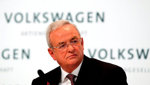 Volkswagen Chief Executive Martin Winterkorn who resigned following the revelation VW may have rigged emission data