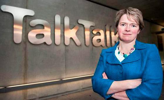 Chief Executive of Talk Talk Dido Harding