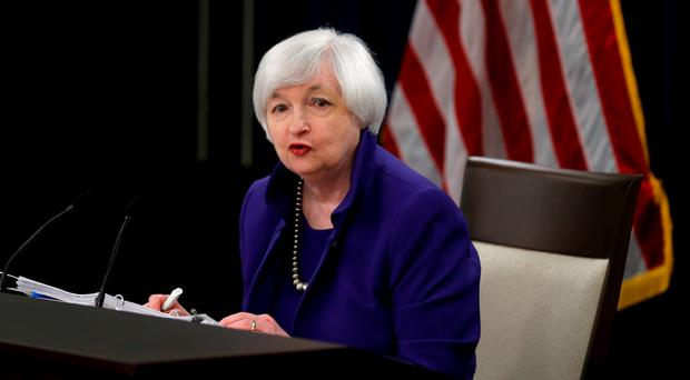 US Fedeeral Reserve chairperson Janet Yellen. Photo: Reuters