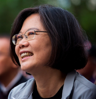 Democratic Progressive Party leader Tsai Ing-wen Photo: Billy H.C. Kwok / Bloomberg