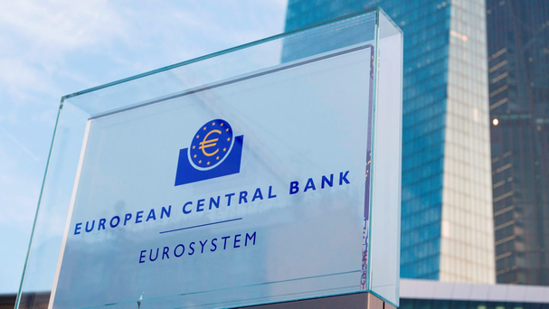 The ECB has now fixed lending rates at 0pc and it is effectively charging banks to keep money on deposit with it. Photo: Martin Leissl/Bloomberg