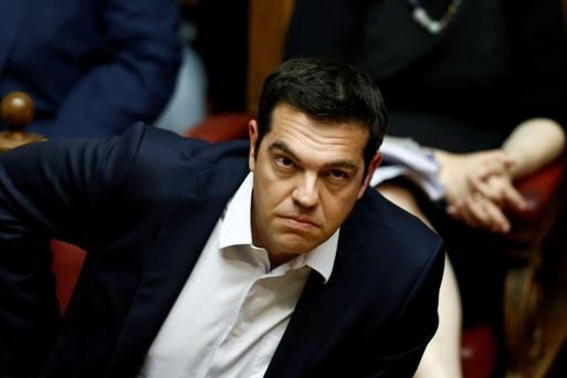 The Greek PM Alexis Tsipras has criticised border incident. Photo: Reuters