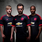 Manchester United is one of a handful of giant clubs with ties to the German sportswear firm. Photo: ADIDAS/PA Wire