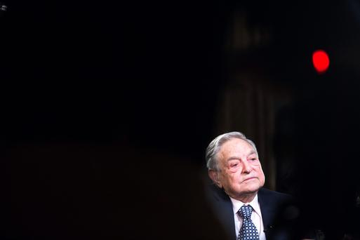 George Soros, billionaire and founder of Soros Fund Managemen