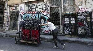 Austerity-hit Greece sees slight turnaround in GDP