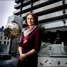 Central Bank of Ireland deputy governor Sharon Donnery. Photo: David Conachy