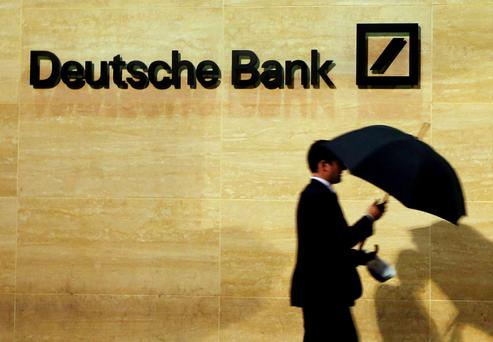 German lender will try to reach a deal with the US in Washington