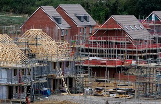 Scheme could see up to 200,000 houses being built – but Britain needs a total of one million. Photo: PA