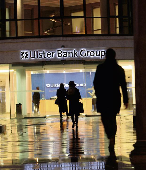 Ulster Bank head offices on George's Quay, Dublin