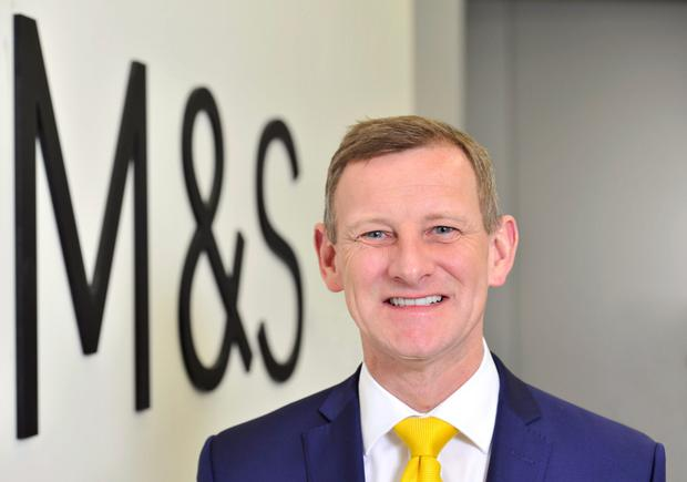 M&S ceo Steve Rowe. Photo: Adrian Brooks