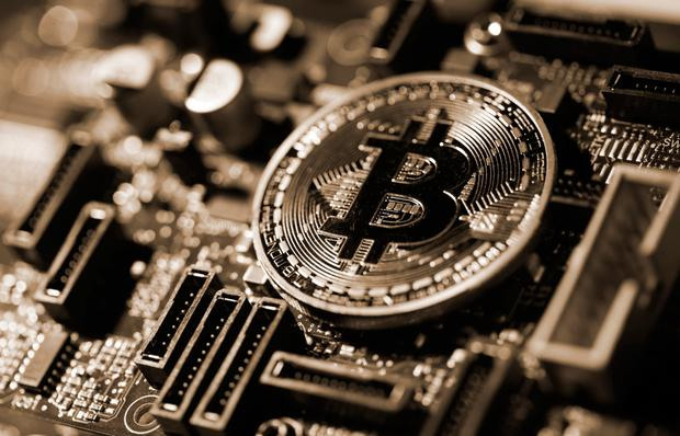 Bitcoin slumped amid regulatory scrutiny (stock image)