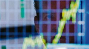 'S&P 500 companies are expected to post an 18.6pc rise in profits in the first quarter, the biggest increase in seven years, according to Thomson Reuters data.' Stock photo: Reuters