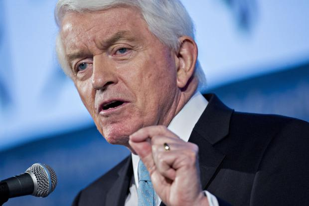 Tom Donohue, president of the US Chamber of Commerce