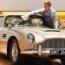 A 1965 Aston Martin DB5 driven by Pierce Brosnan as James Bond in the 1995 film GoldenEye (John Stillwell/PA)