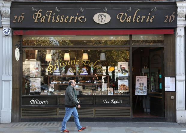 Troubled: Cake and cafe business Patisserie has two Patisserie Valerie cafes in Ireland