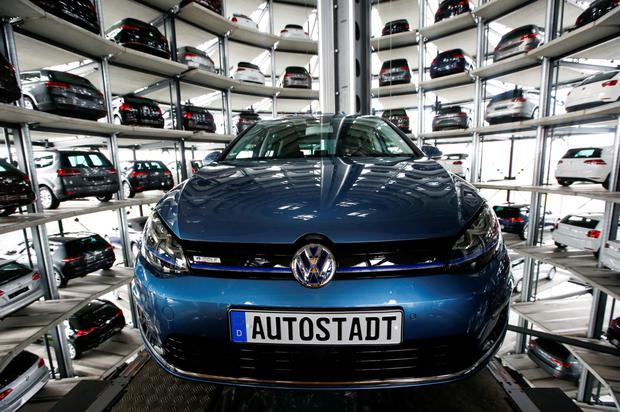 Most searched: VW Golf. Photo: Reuters