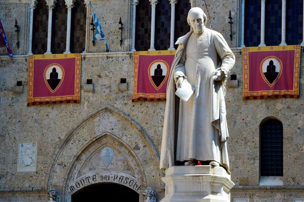 Monte dei Paschi in Siena. Photo: AFP