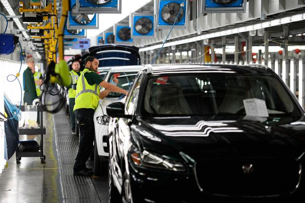Jaguar Land Rover posts £3.4bn loss as China demand slips