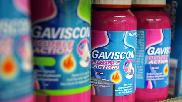 Reckitt has reported full-year figures (PA)