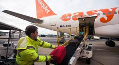 EasyJet said it delivered an 8.6pc surge in passenger numbers to 96 million for the year