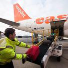 The budget airline reported a 26pc drop in pre-tax profits to £427m (€499.6m) for the 12 months to September 30.