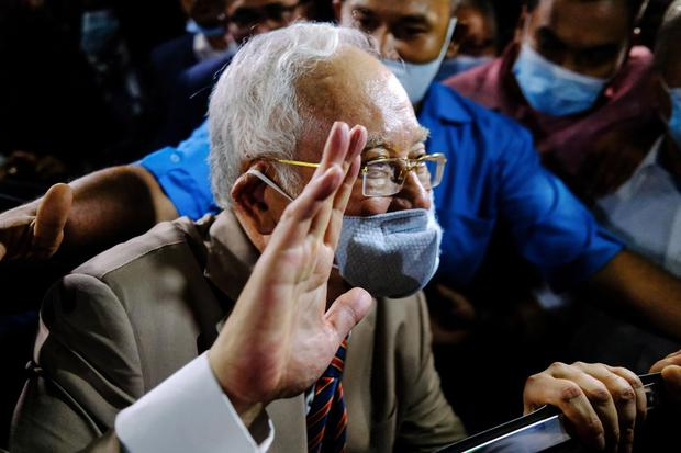 Former PM Najib Razak is also being sued after a criminal trial found him guilty. Photo:Samsul Said/Bloomberg
