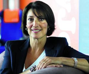 Carolyn McCall, chief executive officer of Easyjet Plc., poses in this undated handout photograph released to the media on Monday, Nov. 15, 2010. EasyJet Plc. Chief Executive Officer Carolyn McCall, who's headed the airline since July, is preparing to pay the company's first dividend after a request from the carrier's founder and biggest shareholder, the Sunday Times newspaper reported, citing sources it didn't identify. Source: Easyjet via Bloomberg  EDITOR'S NOTE: NO SALES. EDITORIAL USE ONLY...I